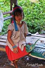Tribu Kayan, Norte de Tailandia