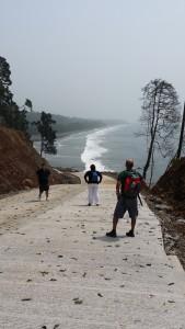 Ctra. que llega hasta la playa