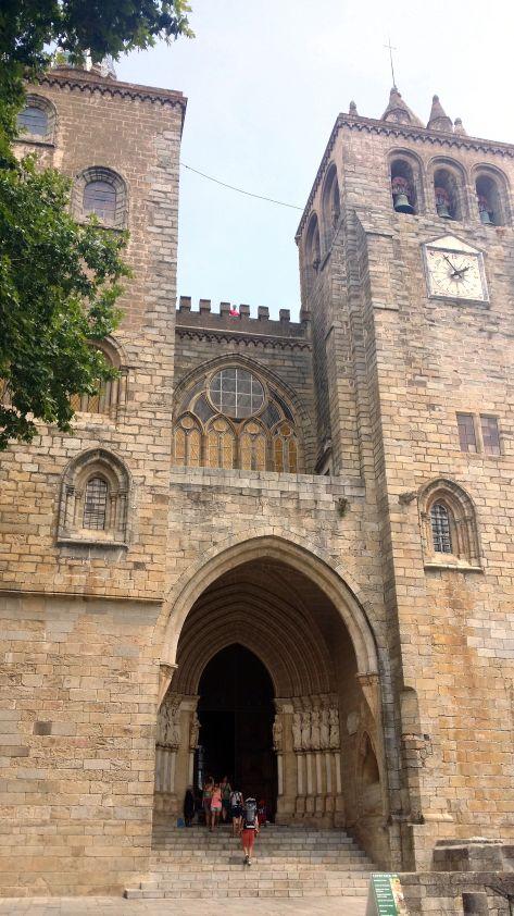 Fachada Catedral Evora