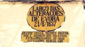 Nombre de Calles Evora